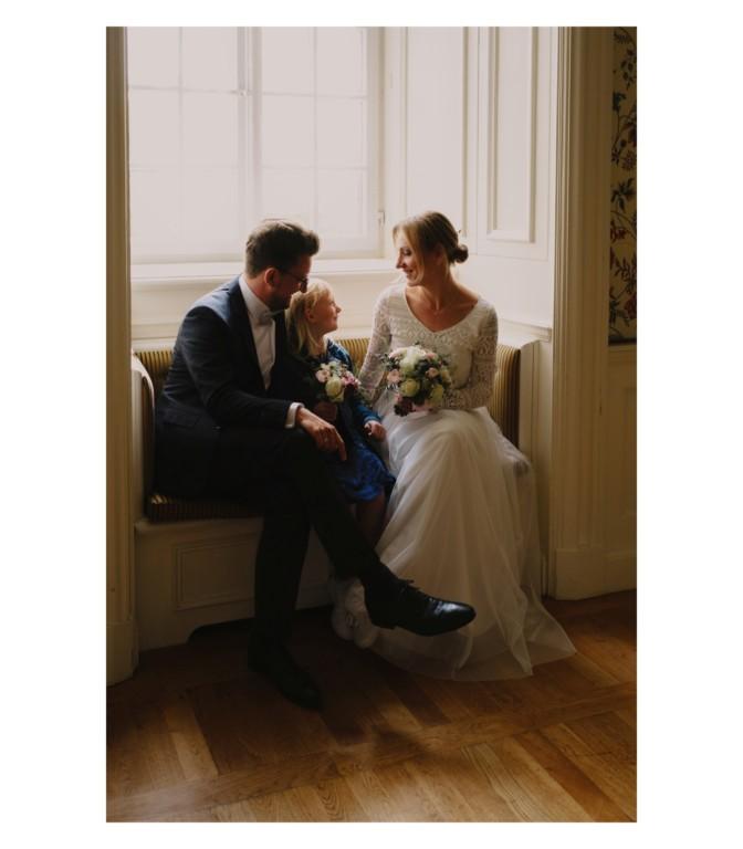 Kleine, geheime Hochzeit zu Dritt auf Schloss Körtlinghausen