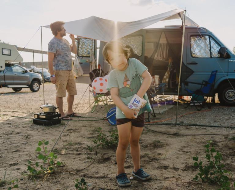 Sommersause auf dem Campingplatz